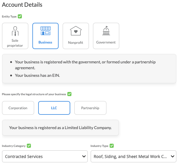 VatPay-WePay KYC Account details